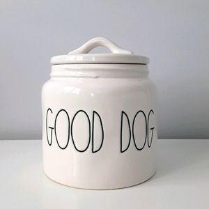 NWT Rae Dunn ceramic pet canister